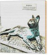 The Asian Civilisations Museum Cat Wood Print