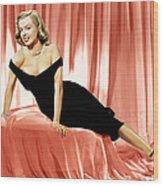The Asphalt Jungle, Marilyn Monroe, 1950 Wood Print