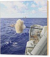 The Australian Navy Frigate Hmas Wood Print