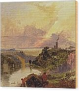 The Avon Gorge At Sunset  Wood Print