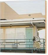 The Balcony Of The Lorraine Motel Where Wood Print