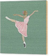 The Ballerina II Wood Print