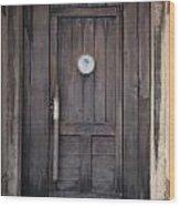 The Bar Door Wood Print
