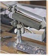 The Barber Shop 12 Wood Print