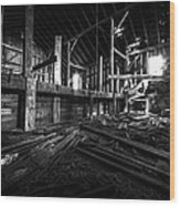 The Barn IIi Wood Print
