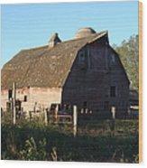 The Barn Iv Wood Print