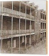 The Barracks Wood Print