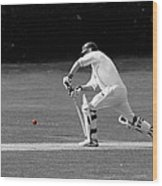 The Batsman Wood Print