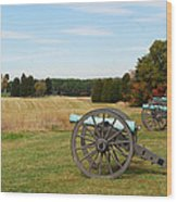 The Battle Of First Manassas  Wood Print