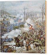 The Battle Of Pea Ridge, Arkansas Wood Print by Everett