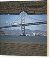 The Bay Bridge Wood Print