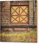 The Bay Door  Wood Print