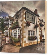 The Bear Inn  Wood Print