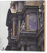 The Beauty Of Philadelphia City Hall Wood Print by Bill Cannon