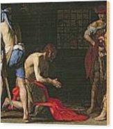 The Beheading Of John The Baptist Wood Print