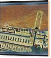 The Belle Of San Francisco Wood Print