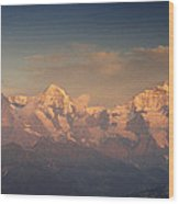 The Bernese Alps Wood Print
