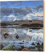 The Blackmount Wood Print