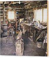 The Blacksmith Shop Wood Print