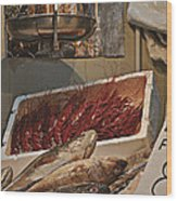 The Blessed Fish Market Wood Print