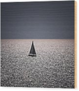 The Blue Wood Print by Amr Miqdadi