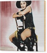 The Blue Angel, Marlene Dietrich, 1930 Wood Print by Everett