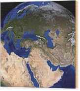The Blue Marble Next Generation Earth Wood Print by Stocktrek Images
