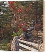 The Bluff Wood Print