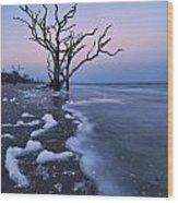 The Boneyard At Botany Bay - D006884 Wood Print