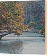 The Bridge At Callaway Wood Print