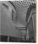 The British Museum I Wood Print