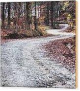 The Broken Road Wood Print