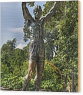 The Bronze Stallion II - Rocky Balboa - Philadelphia - Pennsylvania - Rocky Steps Wood Print by Lee Dos Santos