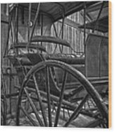 The Buggy Barn Wood Print