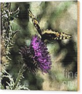 The Butterfly I Wood Print