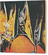 The Cabinet Of Dr Caligari Wood Print