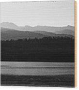 The Calm Waters Of Priest Lake Idaho Wood Print