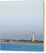 The Cape - Cape May Lighthouse Wood Print