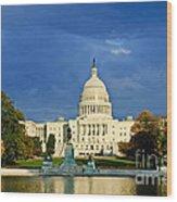 The Capitol Wood Print