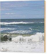 The Captivating Sea Wood Print