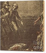 The Capture Of Margaret Garner Wood Print by Photo Researchers