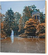 The Castle At Longwood Gardens Wood Print