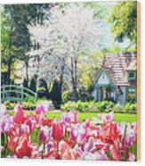 The Claude Monet Small House Wood Print