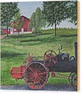 The Clemens Farm Wood Print