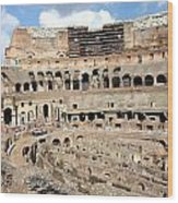 The Coliseum Wood Print