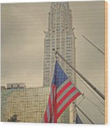 The Colors Flying In New York Wood Print