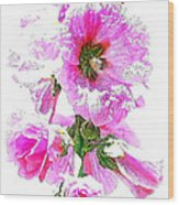10989 The Colour Of Summer Wood Print
