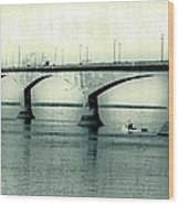 The Confederation Bridge Pei Wood Print