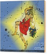 The Constellation Perseus Wood Print