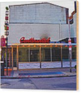 The Continental Diner Wood Print by Bill Cannon